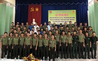Đại học ANND:  Tổng kết Chiến dịch Hành quân xanh năm 2018 tại huyện Châu Thành