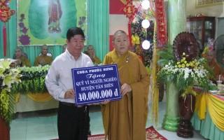 Chùa Phước Hưng tổ chức Đại lễ Vu lan
