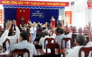 Hòa Thành: Hiệp thương cử bổ sung uỷ viên và Phó Chủ tịch UB.MTTQVN huyện
