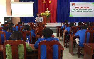 Tập huấn chương trình nông nghiệp chất lượng cao cho thanh niên