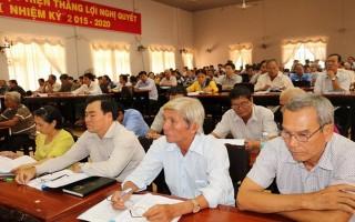 Gò Dầu: Tập huấn công tác điều tra, rà soát hộ nghèo, hộ cận nghèo