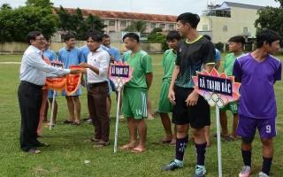 Khởi tranh giải vô địch bóng đá huyện Tân Biên năm 2018