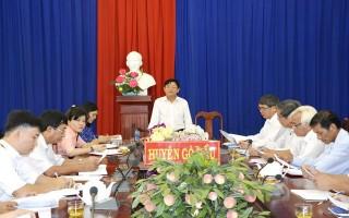 Giám sát công tác quản lý nhà nước đối với các di tích lịch sử - văn hóa tại Gò Dầu