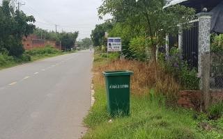 Hiệu quả từ việc đặt thùng chứa rác ven đường