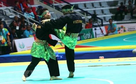 Pencak Silat mang Huy chương Bạc về cho Thể thao Việt Nam