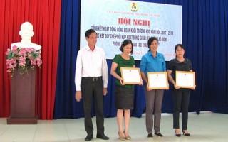 LĐLĐ thành phố Tây Ninh tổng kết hoạt động Công đoàn khối trường học