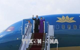 Chủ tịch nước Trần Đại Quang kết thúc tốt đẹp chuyến thăm Ethiopia và Ai Cập
