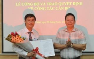UBND tỉnh trao quyết định bổ nhiệm cán bộ