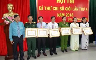 Hội thi Bí thư chi bộ giỏi huyện Gò Dầu