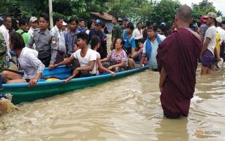 Vỡ đập ở Myanmar, hơn 50.000 người phải sơ tán