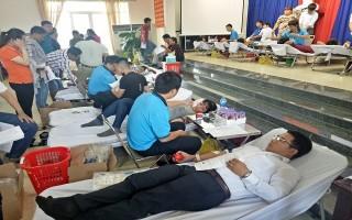 Thành phố Tây Ninh: Vận động hiến trên 1.400 đơn vị máu