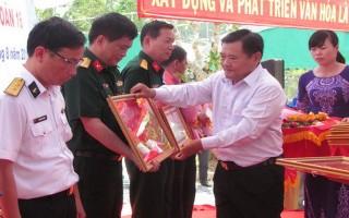 Khánh thành Văn chính điện Đình Lộc Hưng và Nhà bia liệt sĩ