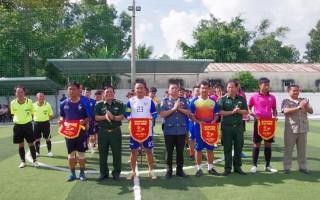 Biên phòng Tây Ninh tổ chức giải bóng đá giao lưu hữu nghị biên giới
