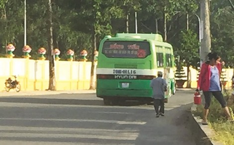 Rà soát lại các điểm dừng trả, đón khách xe buýt