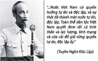 Tượng đài của ý chí độc lập, tự chủ, tự lực, tự cường Việt Nam