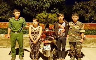 Đồn biên phòng Mộc Bài: Bắt 2 tên cướp xe máy