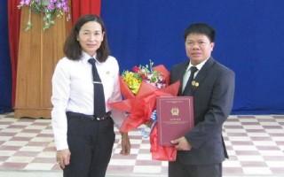 Bổ nhiệm Phó chánh án TAND huyện Tân Biên.