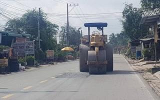 Chú trọng nâng cao chất lượng sửa chữa, dặm vá đường