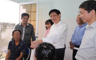 Thứ trưởng Bộ Y tế Nguyễn Thanh Long làm việc tại Tây Ninh