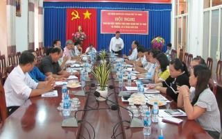 Thành phố Tây Ninh: Giao ban công tác HĐND 9 tháng năm 2018