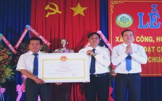 Công bố xã Mỏ Công đạt chuẩn nông thôn mới