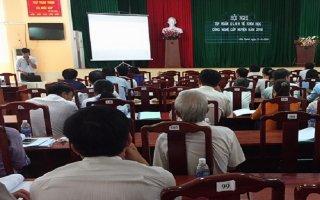 Tập huấn nghiệp vụ quản lý nhà nước về khoa học và công nghệ