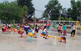 Châu Thành: Khánh thành cụm trò chơi thiếu nhi xã Hòa Hội