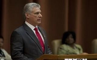 Chủ tịch Hội đồng Nhà nước Cuba Diaz-Canel tới Mỹ