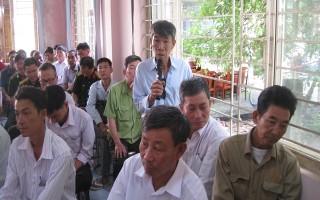 Đại biểu quốc hội tiếp xúc cử tri huyện Tân Biên
