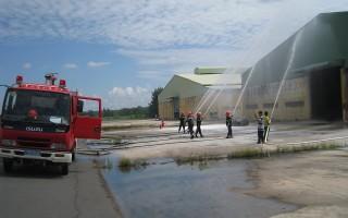 CATN: Thực tập phương án chữa cháy và cứu nạn, cứu hộ tại Tân Biên