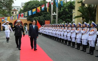 Bộ đội Hải quân nhớ mãi một lần Chủ tịch nước đến thăm