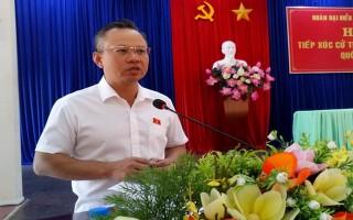 Đại biểu Quốc hội tiếp xúc cử tri trước kỳ họp thứ VI Quốc hội khóa XIV