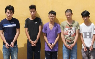 Bắt nhóm đối tượng thực hiện 9 vụ trộm