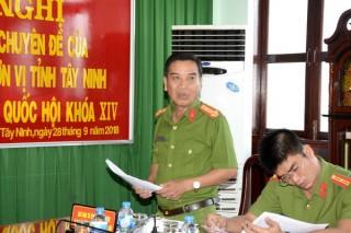 Đoàn ĐBQH đơn vị Tây Ninh: Tiếp xúc cử tri chuyên đề về Luật Đặc xá (sửa đổi)