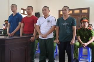 Một phút côn đồ, 4 bị cáo lãnh án 30 năm tù