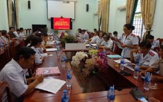 Gò Dầu: Tập huấn nghiệp vụ công tác tiếp công dân, giải quyết khiếu nại tố cáo