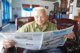 Những người già không ngơi nghỉ