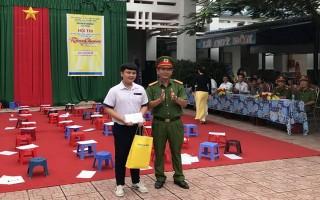 Học sinh THPT Lê Quý Đôn thi tìm hiểu kiến thức, pháp luật về phòng cháy, chữa cháy