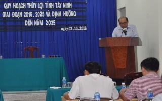Công bố Quy hoạch thủy lợi tỉnh Tây Ninh, giai đoạn 2016 – 2025