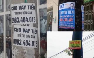 Phường 3: Xử phạt các đối tượng dán quảng cáo trên cột điện