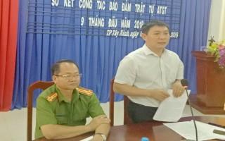 TP.Tây Ninh: Tìm giải pháp kéo giảm tai nạn giao thông