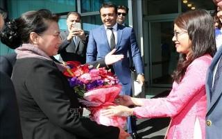 Chủ tịch QH Nguyễn Thị Kim Ngân dự Hội nghị Chủ tịch QH các nước Á Âu
