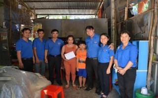 Thành đoàn TP.HCM: Thăm, hỗ trợ gia đình bị thiên tai ở Suối Ngô
