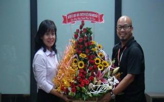 Lãnh đạo huyện Dương Minh Châu thăm, chúc mừng doanh nghiệp