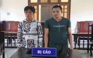 Trộm cắp xe mô tô, 2 bị cáo bị phạt 6 năm tù