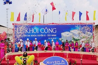 Khởi công xây dựng Bệnh viện Đa khoa Xuyên Á – Tây Ninh
