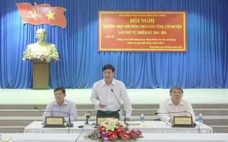 Hội nghị Thường trực HĐND tỉnh, cấp huyện lần thứ tư, nhiệm kỳ 2016- 2021