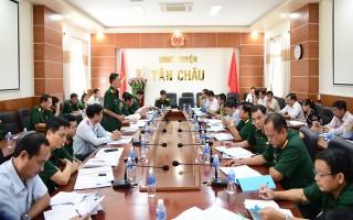 Quân khu 7: Thanh tra công tác quốc phòng tại Tân Châu