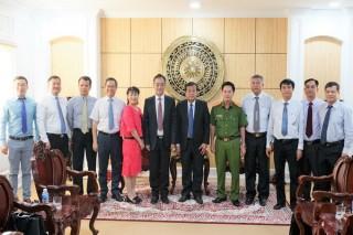 Chủ tịch UBND tỉnh tiếp Tổng lãnh sự Trung Quốc tại TP.HCM