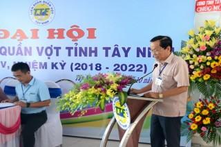 Đại hội Liên đoàn quần vợt tỉnh Tây Ninh lần thứ V, nhiệm kỳ 2018 – 2022